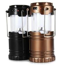 Rechargeable Camping Light Collapsible Solar Camping Lantern Tent Lights Outdoor