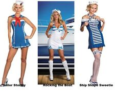 Rocking the Boat, Sailor Stormy or Ship Shape Sweetie Sexy Sailor Adult Costume