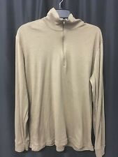 PECKHAM LWCWUS Cold Weather Undershirt 100% Polyester Brown Large Long Sleeve