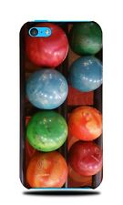 COLORFUL BOWLING BALLS HARD CASE COVER FOR APPLE IPHONE 5C