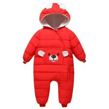 Toddler Infant Baby Boys Girls outerwear Hooded Winter Warm Jacket Down Snowsuit