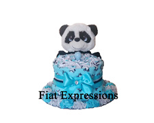 Dog Girl Mini Diaper Cake Baby Shower Gift & Centerpiece