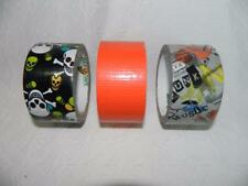 U Pick LOT Duck Duct Tape Rolls Crafts Pattern Solid Colors
