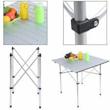 Aluminum Folding Portable Camping Picnic Table Stool Chair Set With Storage Bag