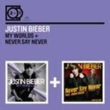 BIEBER JUSTIN 2X1 MY WORLDS NEVER SAY NEVER CD X 2 NEW
