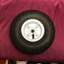 """NEW TIRE 10"""" 4.1x3.5 PNEUMATIC HAND TRUCK DOLLY WAGON INDUSTRIAL WHEEL"""