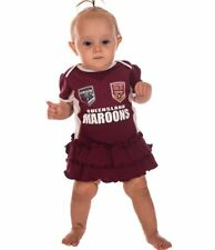 Rugby League QLD State of Origin Girls Footysuit Tutu Skirt Baby Infant