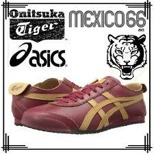Asics Onitsuka Tiger Mexico 66 Wine Red Trainers Unisex Retro Football Shoes