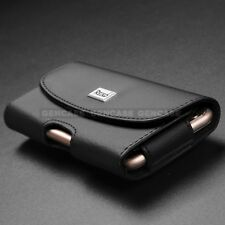 Leather Heavy Duty Belt Clip Pouch Holster Case Cover Apple For iPhone 8, 8 Plus