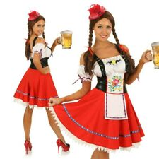 Adult Oktoberfest Costume German Beer Maid Bavarian Fancy Dress Party Outfit