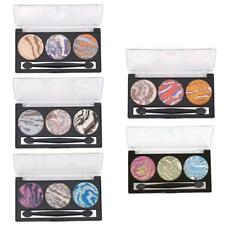 3 Color Shimmer Baked Eyeshadow Palette Makeup Cosmetic Eye Shadow Matte Set