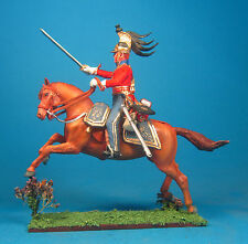 Napoleonic Wars — British Officer Guard dragoon — 60mm High quality Lead Figure