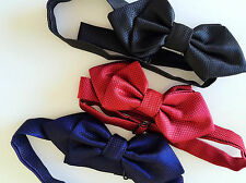 Kid baby Party School Pre-tied triangle Wedding Boy bow tie Necktie bowtie PROP