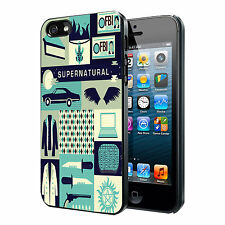 Supernatural Collage Thriller Custom Phone Case Cover For iPhone iPod