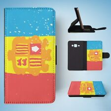 ANDORRA COUNTRY FLAG FLIP WALLET CASE COVER FOR SAMSUNG GALAXY J3(2016)