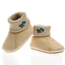 Christmas Baby Infant Boys Soft Sole Cute Toddler Boots Snow Booties Crib Shoes