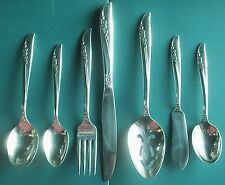 LILAC TIME BuY the Piece Oneida Rogers 1957 Silverplate Flatware