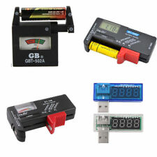 New AA AAA C D 9V 1.5V Universal Button Cell Battery Volt Tester Checker