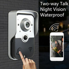 Wireless WiFi Doorbell Home Security Phone Intercom Monitor Remote Video Camera