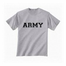 US ARMY ATHLETIC TEE  PHYSICAL TRAINING MILITARY T-SHIRT SHORT SLEEVE