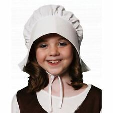 Child Girls Hat Cute Summer Wear Bonnet Victorian Fancy Dress Party Costume Item