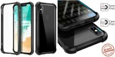 iPhone X Protective Case Shockproof Cover Hybrid Slim Clear Reinforced Bumper