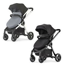 Chicco Baby Infant Toddler 6in1 Modular Expandable Urban Stroller Obsidian Coal
