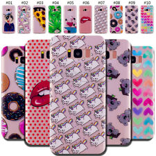 For Samsung Galaxy Protective Back Silicone TPU Shockproof Soft Case Cover Skin