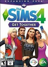 NEW SEALED - The Sims 4: Get Together Expansion (WindowsPC/Mac, 2015) FREE SHIP!