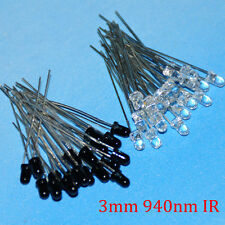5mm 3mm 940nm IR Infrared LED Assorted Transmitter IR Receiver LED Diodes Kit