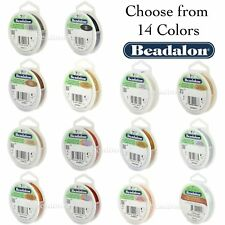 Beadalon 7 Strand (8 Sizes - 14 COLORS) Stainless Steel Flex Beading Wire