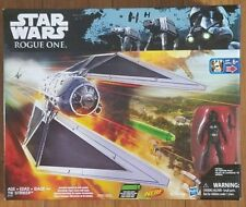 NEW Star Wars Rogue One Tie Striker & Imperial Tie fighter pilot included NERF