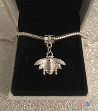 New Silver Plated Bumble Bee Pendant Charm for Charm Bracelet