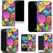 art case cover for various Mobile phones - smiley design silicone