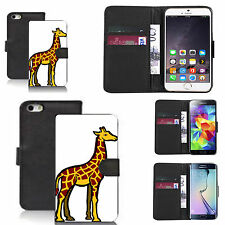 black pu leather wallet case cover for many Mobile phones - design ref zx1107