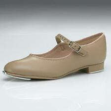 Dance Shoes Tap Mary Jane Tan Student Youth Adult Revolution Great for Class