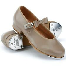 Dance Shoes Tap Tan Mary Jane MANY CHILD KID Sizes Bloch Great for Class