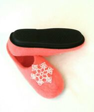 Felted slippers Wool shoes Felt slippers House shoes US9 Womens Warm Home shoes