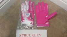 NIKE SUPERBAD SG ADULT PADDED RECEIVER FOOTBALL GLOVES, NFL BCA PINK, NWT