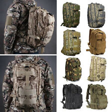 30L Outdoor Camping Hiking Army Military Tactical Bag Rucksack Backpack Trekking