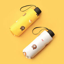 Mini Pocket Umbrella Compact Folding Travel Super Light Portable Small Cute Bear