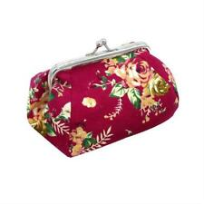 Women Wallets And Purses Vintage Flower Small Wallet Mini Clutches Coin Purses