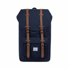 Herschel Supply Co. Little America Backpack Quilt Poly Peacoat NWT MSRP $100