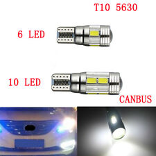 T10 501 W5W 6/10 SMD LED CAR SIDE LIGHT BULB CANBUS ERROR FREE XENON WEDGE LAMP