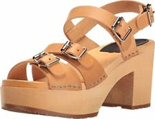 swedish hasbeens 90903 Womens Buckle Heeled Sandal /- Choose SZ/Color.