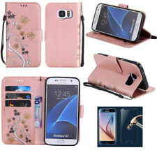 Luxury PU Leather Wallet Flip Case Cover For Samsung Galaxy J5 J7 S6 S7 S8 Plus