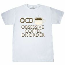 Inktastic OCD: Obsessive Coffee Disorder T-Shirt Humor Funny Lol Mens Adult Tees