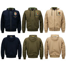 Bomber Jacket Sweatshirt MA-1 Tactical Outerwear Men's Air Force One Embroidery