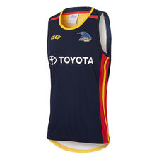Adelaide Crows 2017 AFL Navy Training Singlet Sizes S-5XL BNWT