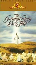 The Greatest Story Ever Told (VHS, 2-Tape Set)